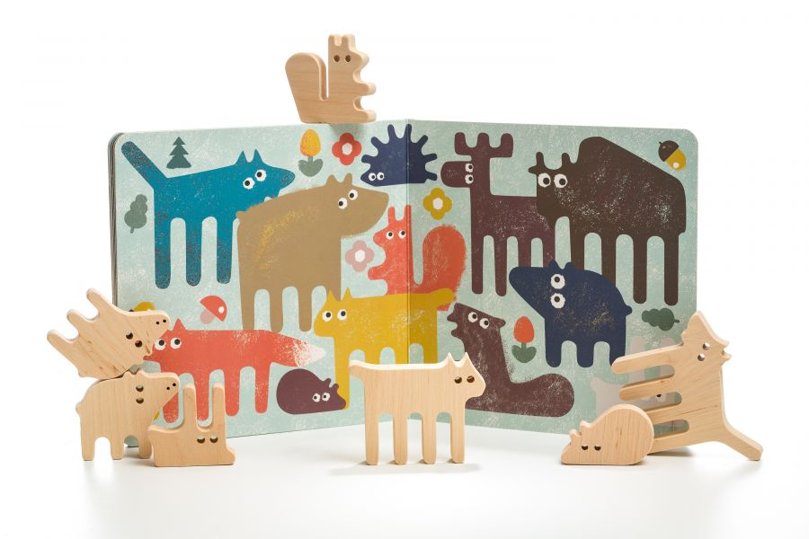 Forest animals Gift set