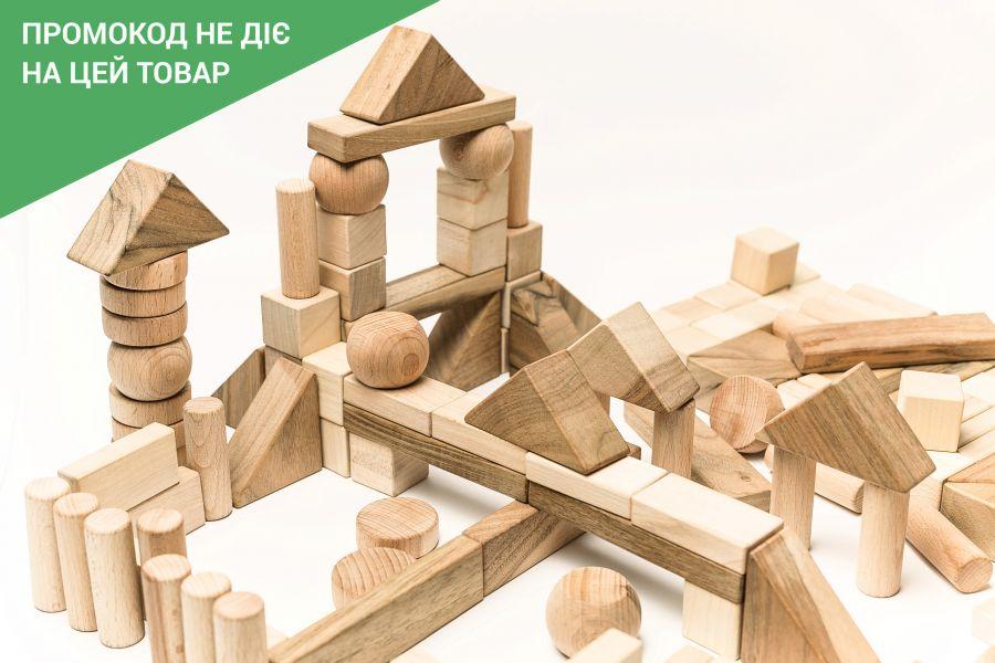 Wooden blocks big set