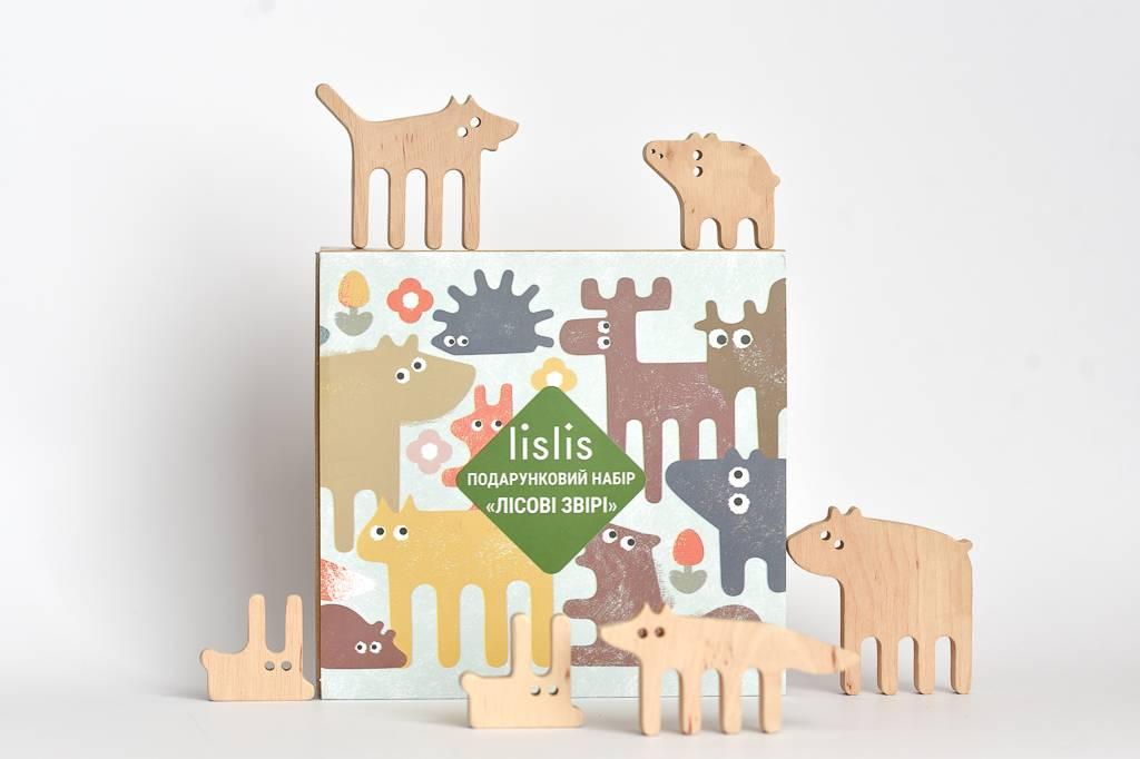 Forest animals Gift set
