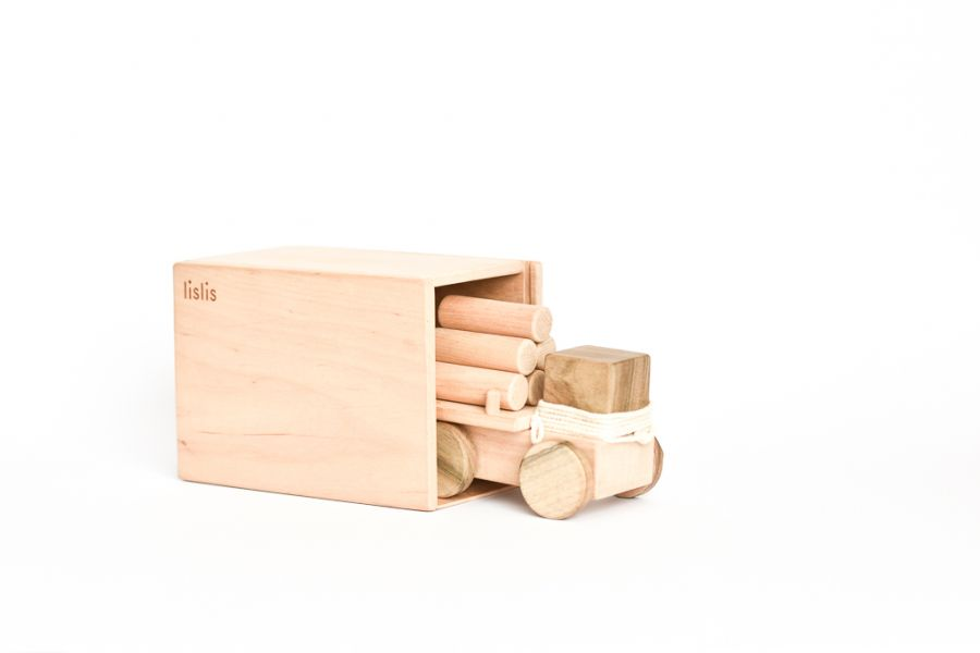 Small Logging truck