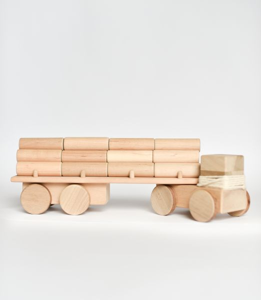 Big Logging truck